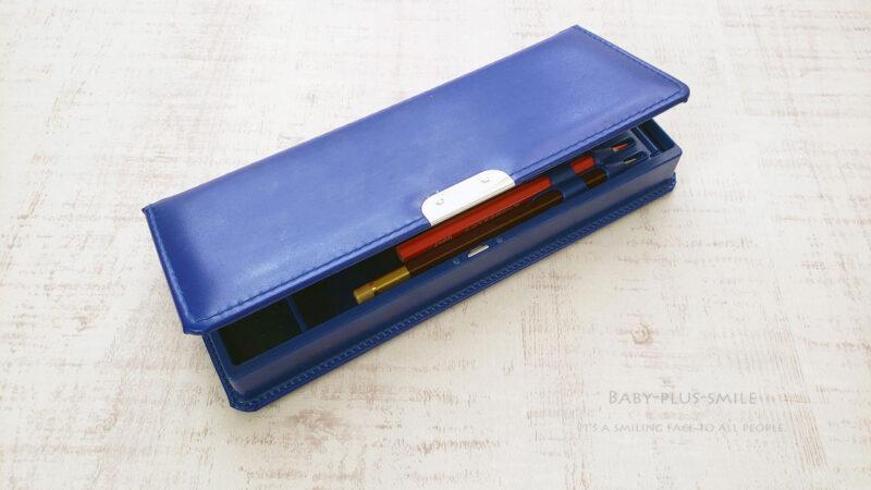 片面開きの箱型ふでばこ