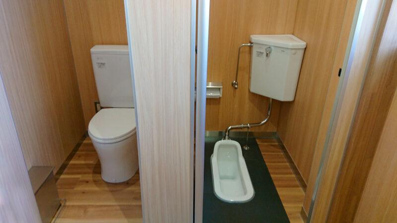 洋式トイレと和式トイレ